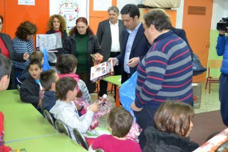Επίσκεψη Δημάρχου στο 1ο Ειδικό Δημοτικό Σχολείο Αγρινίου