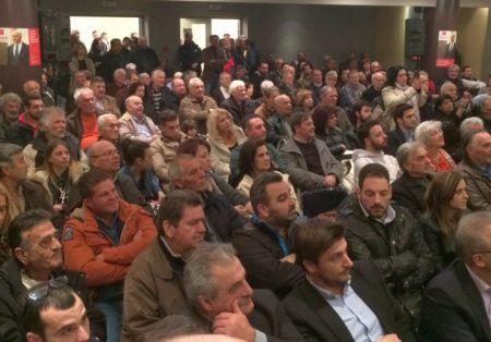 Mε μηνύματα αισιοδοξίας και ελπίδας πραγματοποιήθηκε η προεκλογική εκδήλωση του Κινήματος Δημοκρατών Σοσιαλιστών στο Παπαστράτειο Μέγαρο της ΓΕΑ στο Αγρίνιο