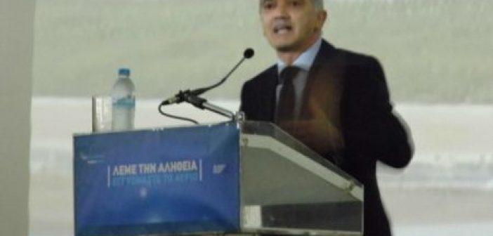 Ομιλία Σαλμά στο Αγρίνιο