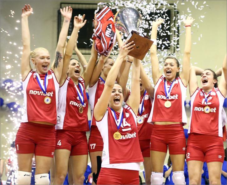 Στον Ολυμπιακό το Κύπελλο Ελλάδος Βόλλεϋ Γυναικών!Πλούσιο φωτορεπορτάζ