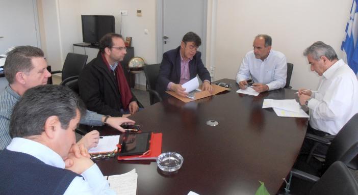 Τα έργα της Περιφέρειας Δυτικής Ελλάδας στον Δήμο Ακτίου – Βόνιτσας στο επίκεντρο συνάντησης