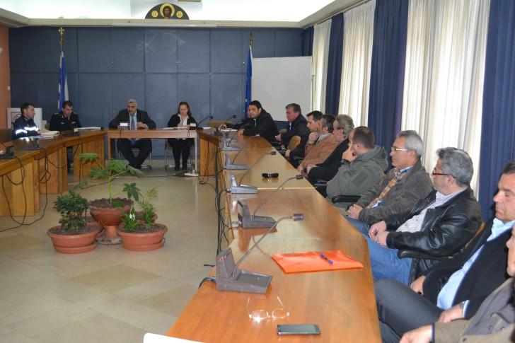 Σύσκεψη του Συντονιστικού Τοπικού Οργάνου του Δήμου Αγρινίου για την αντιπυρική περίοδο