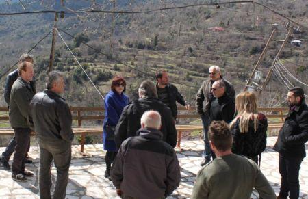 Συνάντηση Τριανταφύλλου, Λουκόπουλου στις πληγείσες περιοχές της Ορεινής Ναυπακτίας