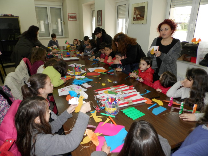 Γιορτή για τα παιδιά στο Εργατουπαλληλικό Κέντρο Αγρινίου