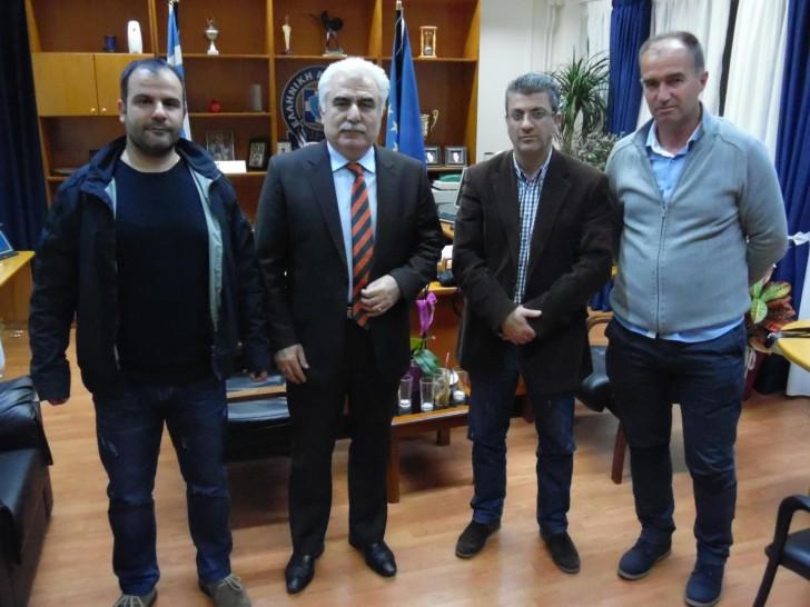 Συνάντηση για τα Aστυνομικά θέματα της Ακαρνανίας με τον υποστράτηγο Αριστείδη Ανδρικόπουλο