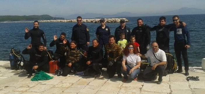 Ολοκληρώθηκε ο καθαρισμός στο λιμάνι της Βόνιτσας