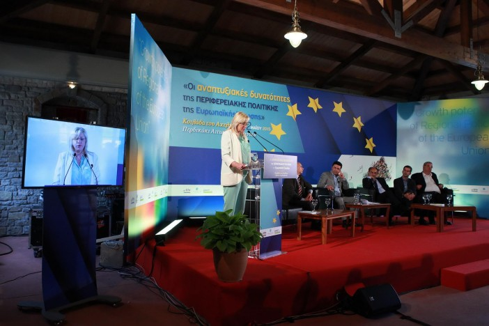 Κορίνα Κρέτσου από την Κοιλάδα του Αχελώου: «Η παρουσία μου εδώ, αποτελεί  σημάδι αλληλεγγύης και δείγμα υποστήριξης στην Ελλάδα»