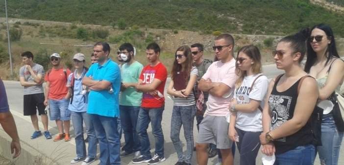 Εκπαιδευτική επίσκεψη των φοιτητών στις εγκαταστάσεις του ΧΥΤΑ Στράτου