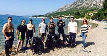 Πραγματοποιήθηκε καθαρισμός βυθού στο λιμάνι του Αστακού