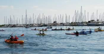 Με επιτυχία πραγματοποιήθηκε ο 1ος Μαραθώνιος Κανόε-Καγιάκ στη Λιμνοθάλασσα Μεσολογγίου – Αιτωλικού