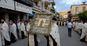 Κορυφώθηκαν οι εορταστικές εκδηλώσεις για τον Άγιο Κοσμά στο Μέγα Δένδρο Θέρμου