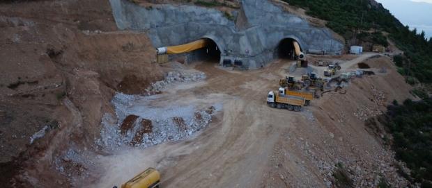Ιόνια Οδός: Στα 900 μέτρα η διάνοιξη της Σήραγγας Κλόκοβας