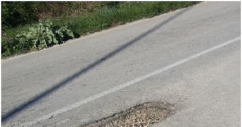 Επικίνδυνες λακκούβες στον Άγιο Νικόλαο Βόνιτσας (δρόμος Λευκάδα-Βόνιτσα) και στο Άκτιο!