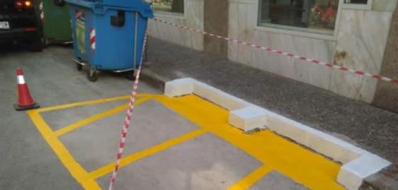 Ο Δήμος «νοικοκυρεύει» τα σημεία των κάδων απορριμμάτων