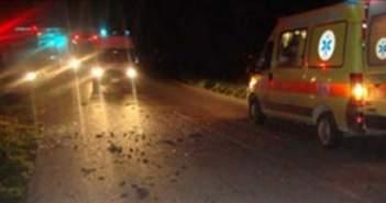 Τροχαίο στο Μεσολόγγι – ΙΧ καρφώθηκε σε καρότσα τρακτέρ