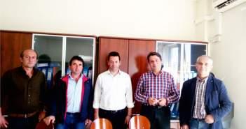 Συνάντηση Κωστακιώτη με φορείς του ορεινού Βάλτου για τη λειτουργία του Κ. Υ Χαλκιοπούλων