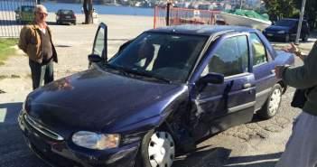 Τροχαίο ατύχημα έξω από το ΚΤΕΛ στην Αμφιλοχία