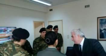 Ευχές και κάλαντα στον Υποστράτηγο της ΕΛ.ΑΣ Δυτικής Ελλάδας Αρ. Ανδρικόπουλο