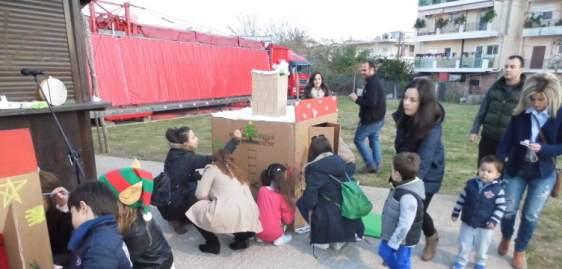 Αγρίνιο: «Άνοιξαν» τα «Σπιτάκια των Δώρων» στο Χριστουγεννιάτικο χωριό στα Παλαιά Σφαγεία