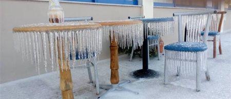 Το Τελωνείο Κήπων στον πάγο! (ΦΩΤΟ)