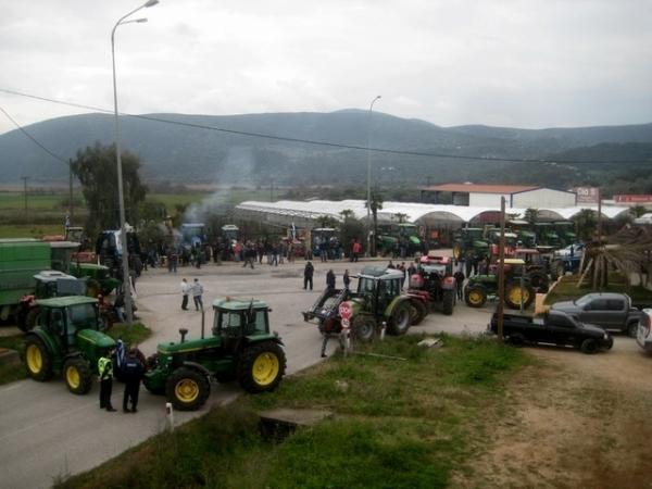 Συλλαλητήριο και μεγάλο αγροτικό μπλόκο αύριο στα διόδια του Ακτίου