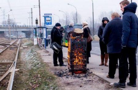 21 νεκροί στην Πολωνία από το πολικό ψύχος