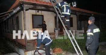 Πύργος: Διέρρηξαν εξοχική κατοικία στη Σπιάντσα και στη συνέχεια την έκαψαν!