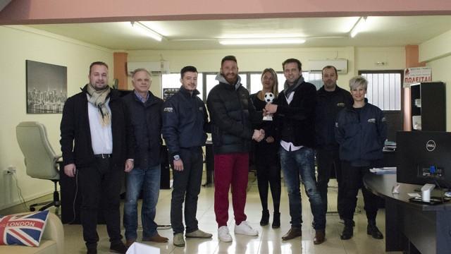 Βραβεύτηκε ο Κυριακίδης (VIDEO)
