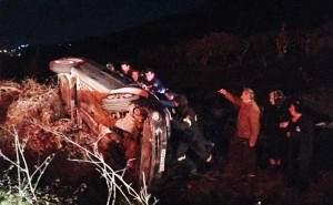 Αμφιλοχία: Τροχαίο ατύχημα – γλίτωσαν από θαύμα (ΔΕΙΤΕ ΦΩΤΟ)