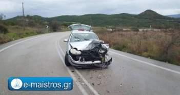 Δύο τροχαία με τραυματισμούς στην Ε.Ο Αμφιλοχίας – Βόνιτσας (ΔΕΙΤΕ ΦΩΤΟ)