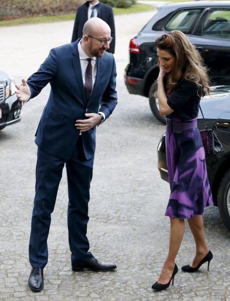Και ο Βέλγος πρωθυπουργός υποκλίθηκε στη γοητεία της βασίλισσας Ράνιας