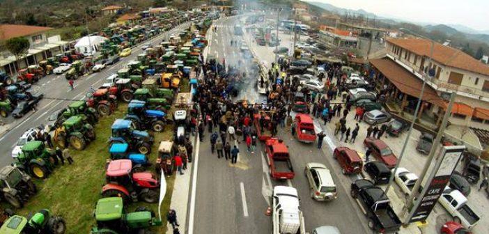 Μπλόκο Αγίου Νικολάου Βόνιτσας:Κλείνουν 12.00 με 14.00 το δρόμο και τις παρακάμψεις!