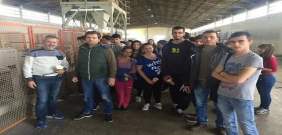 Εκπαιδευτική επίσκεψη στο εργοστάσιο ζωοτροφών οι μαθητές του Τομέα Γεωπονίας του 1ου ΕΠΑΛ Αγρινίου