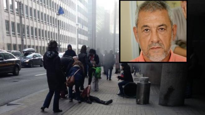 Στις Βρυξέλλες ο βοηθός Περιφερειάρχη Δημήτρης Κωσταριάς – Έζησε τον τρόμο