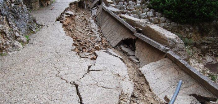 """Στον """"αέρα"""" το έργο αποκατάστασης στον Παλιό Βάρνακα Ξηρομέρου (ΦΩΤΟ)"""