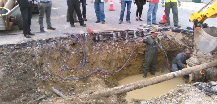 Έργο – «σταθμός» για την υδροδότηση του Αγίου Κωνσταντίνου (ΔΕΙΤΕ ΦΩΤΟ)