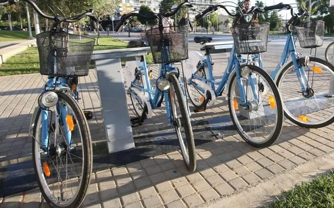 Κοινόχρηστα ποδήλατα στην πόλη της Πάτρας
