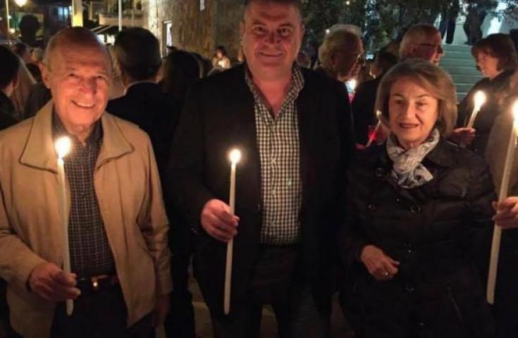Στην Ηλεία έκανε Ανάσταση ο Κώστας Σημίτης (ΦΩΤΟ)