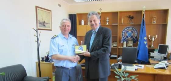 Επίσκεψη του Ελβετού Πρέσβη στην Γενική Περιφερειακή Αστυνομική Διεύθυνση Δυτικής Ελλάδας (ΔΕΙΤΕ ΦΩΤΟ)