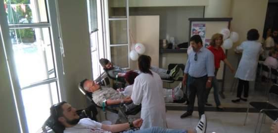 Πραγματοποίηση Εθελοντικής Αιμοδοσίας στο κτίριο του Διοικητηρίου της Περιφερειακής Ενότητα Αιτωλ/νιας
