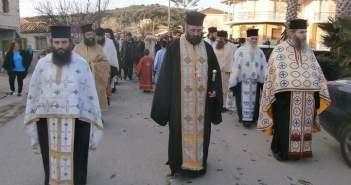 Υποδοχή του Ιερού Λειψάνου του Αγίου Νικολάου Αρχιεπισκόπου Μύρων στον Αστακό