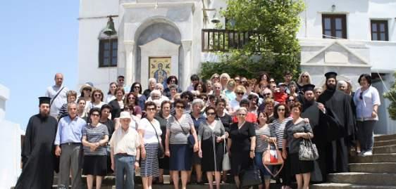 Σε Άνδρο και Τήνο ενορίτες  του Αγίου Αθανασίου Κατούνας (ΔΕΙΤΕ ΦΩΤΟ)