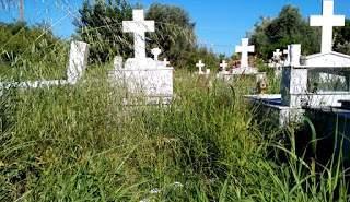 Απροσπέλαστο το Νεκροταφείο Μύτικα (ΔΕΙΤΕ ΦΩΤΟ)