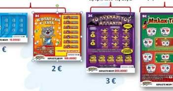 Ξηρομερίτισσα κέρδισε 100.000 σε σκρατς που αγόρασε στη Λευκάδα!