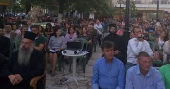 Πλήθος Κόσμου στην εκδήλωση για τη νεολαία στην πλατεία της Κατούνας (ΔΕΙΤΕ ΦΩΤΟ)