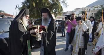 Υποδοχή Λειψάνου Αγίου Νικολάου στον Αστακό – Θα παραμείνει για προσκύνημα έως την Τετάρτη 13 Ιουλίου (ΔΕΙΤΕ ΦΩΤΟ)