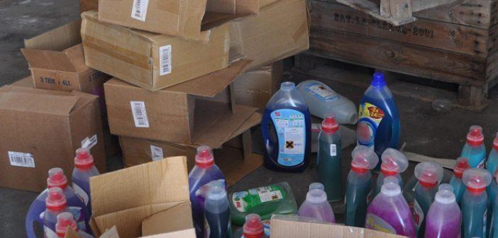Κύκλωμα (;) διακινούσε σε Αιτωλοακαρνανία και Ηλεία συσκευασίες απομίμησης υγρού πλυντηρίων