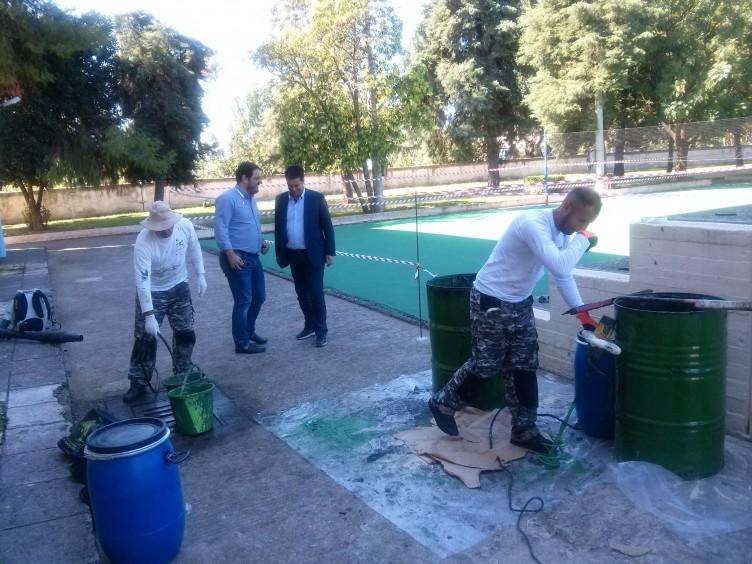 Επίσκεψη Παπαναστασίου σε ΔΑΚ και Κοιμητήριο Αγρινίου