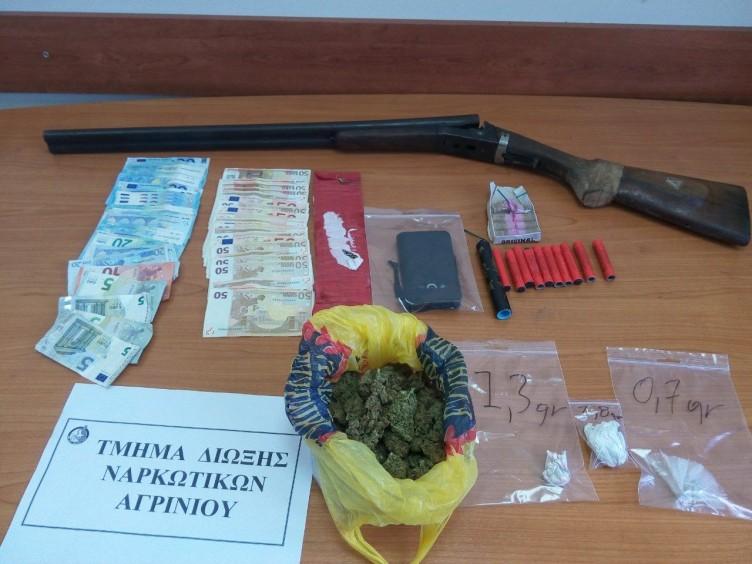 Αυτά εντόπισε η Δίωξη Ναρκωτικών Αγρινίου στο σπίτι του 32χρονου στο Νεοχώρι Μεσολογγίου (ΔΕΙΤΕ ΦΩΤΟ)