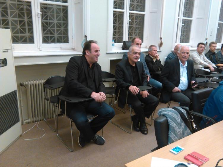 Επιστροφή… Σταμάτη στο Δημοτικό Συμβούλιο Αγρινίου (ΔΕΙΤΕ ΦΩΤΟ)